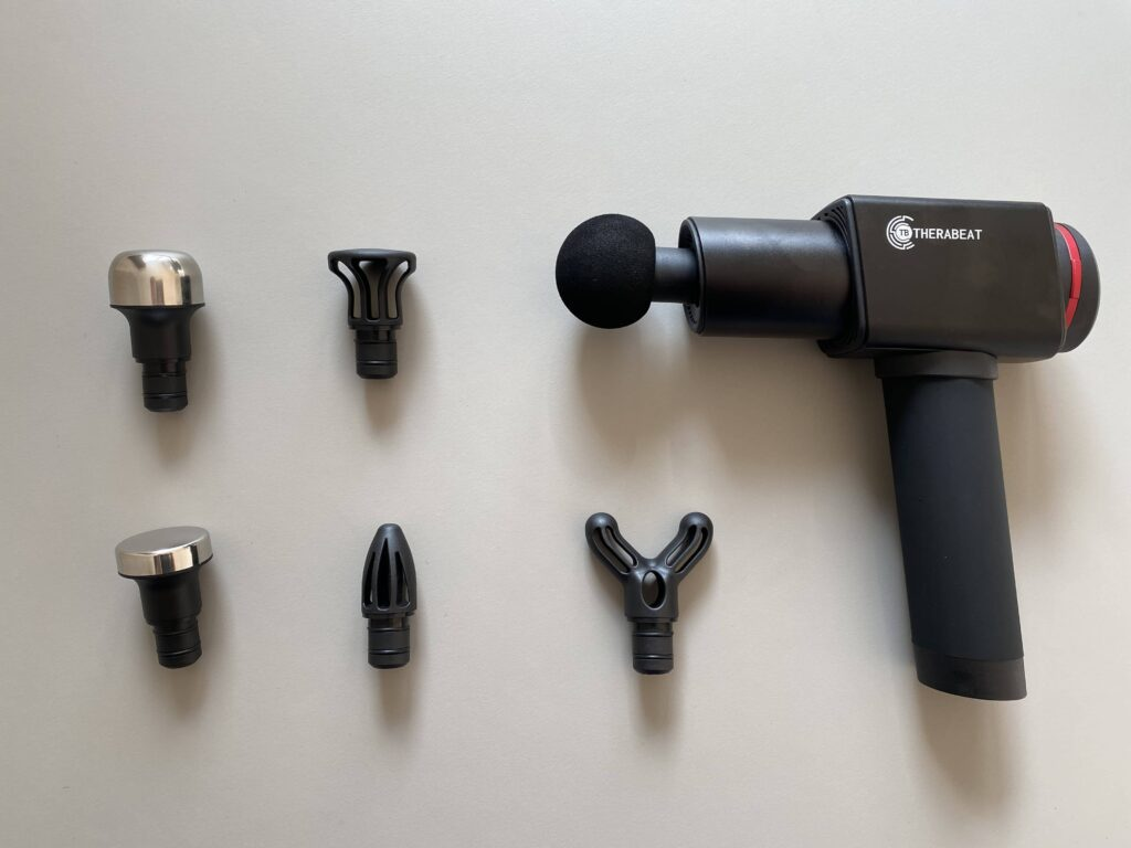 Therabeat Massagepistole Lieferumfang Test