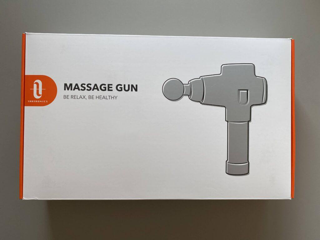 Taotronics Massage Gun Verpackung